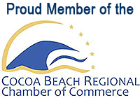 Proud Member of the Cocoa Beach Regional Chamber of Commerce.